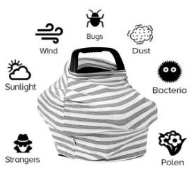 Infant car seat covers can protect